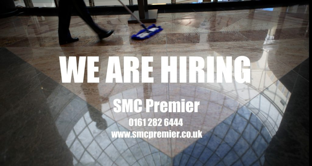 we are hiring at SMC Premier Cleaning